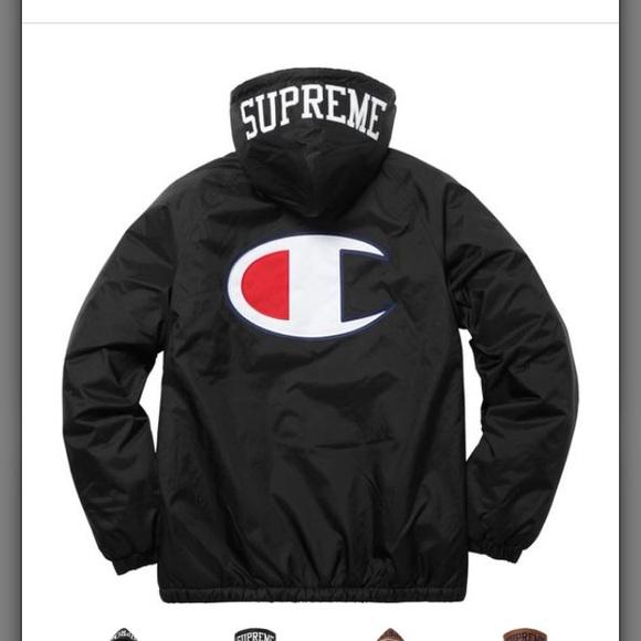 4af2896053c3 X l Supreme  Champion Sherpa Lined Hooded Jacket